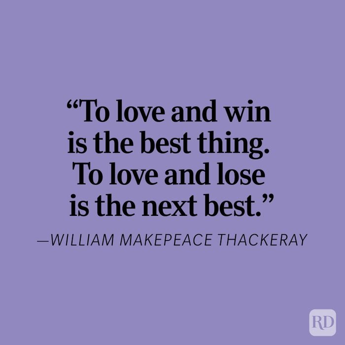 William Thackeray Heartbreak Quote