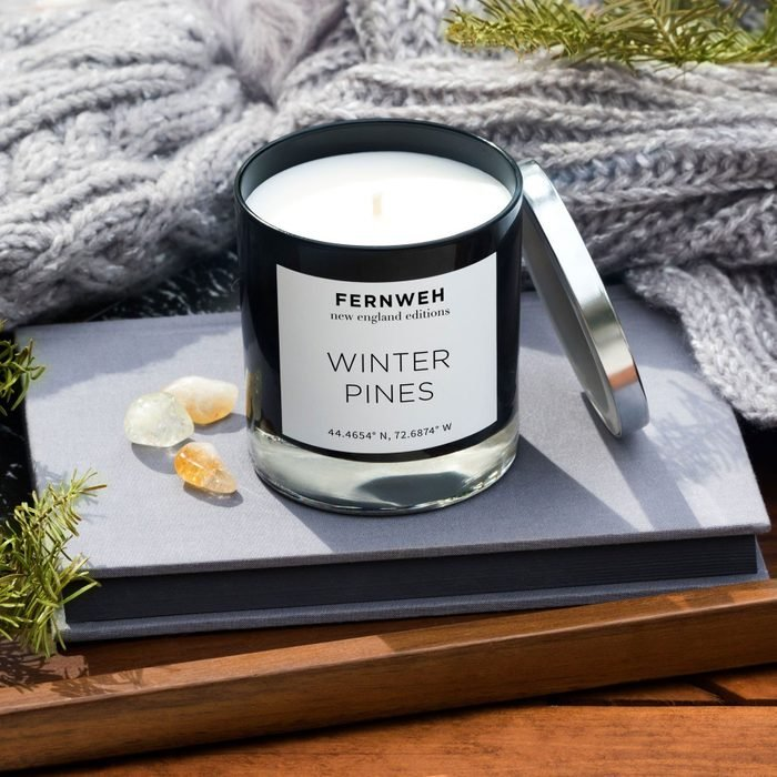 Winter Pines Candle: New England Edition from Fernweh Editions