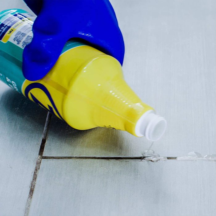 Zep Grout Cleaner In Use