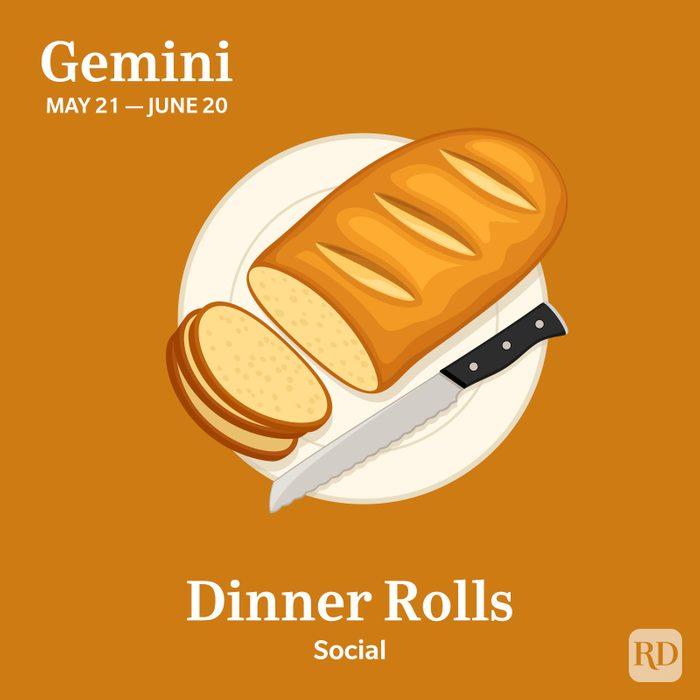 Zodiac Thanksgiving Food Gemini