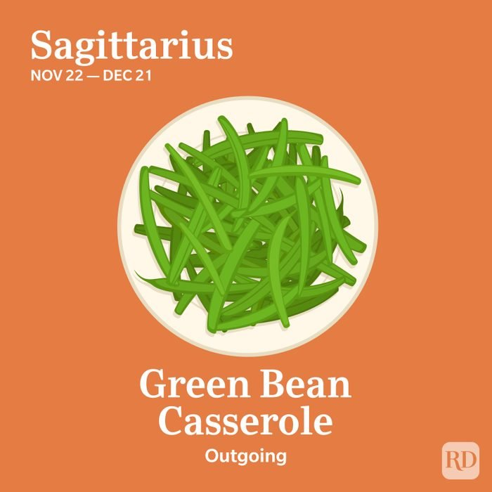 Zodiac Thanksgiving Food Sagittarius