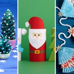 40 Christmas Crafts for Kids to Get Them in the Holiday Spirit