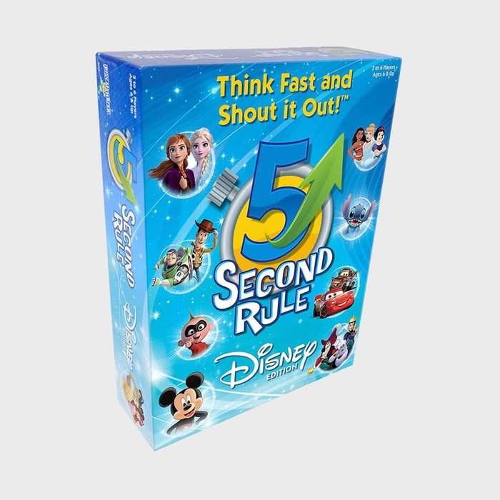 5 Second Rule Disney Edition Via Amazon.com