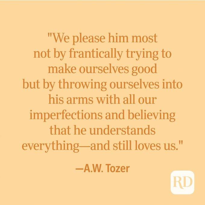 A.w. Tozer Spiritual Quote