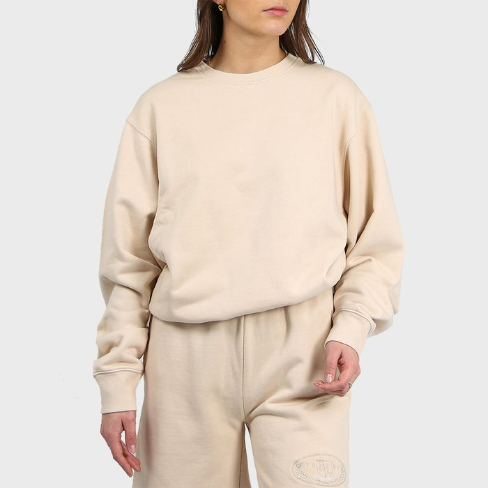 Brunette The Label Best Friend Crew Neck Sweatshirt