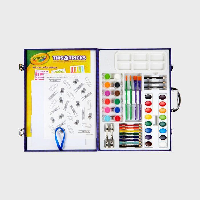 Crayola Tabletop Easel Art Case Via Shop.crayola.com
