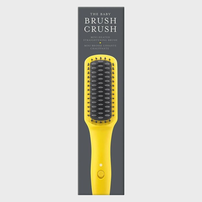 Drybar The Baby Brush Crush Mini Heated Straightening Brush