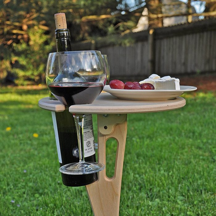 Faircraftusa Outdoor Wine Table Via Etsy