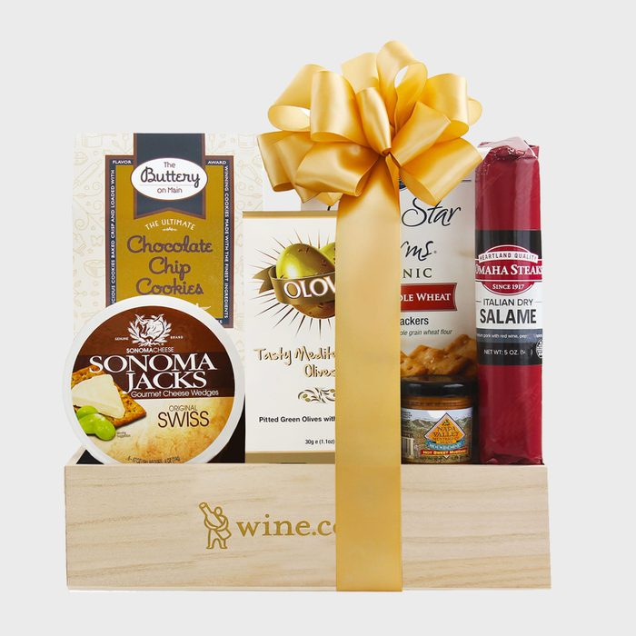 Fancy Treats Gift Box Via Wine
