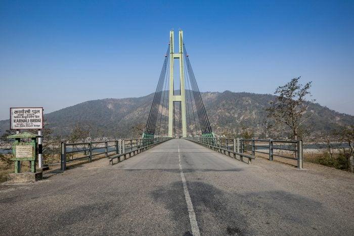 Karnali Bridge, Nepal