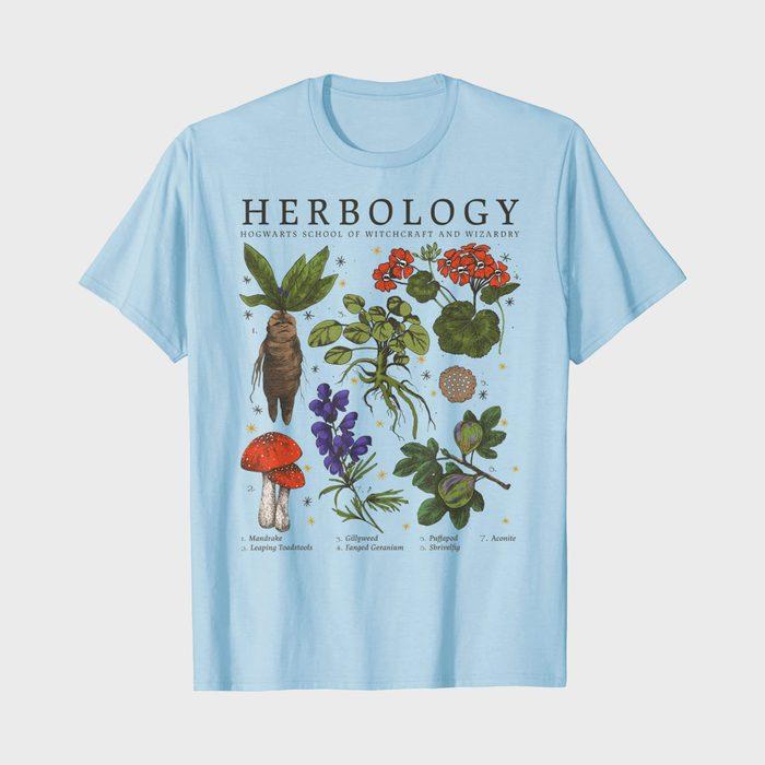Harry Potter Herbology Plants T Shirt