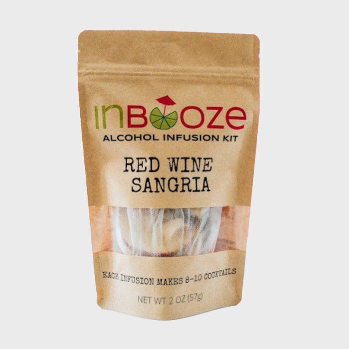 Inbooze Alcohol Infusion Kit, Red Wine Sangria Via Etsy