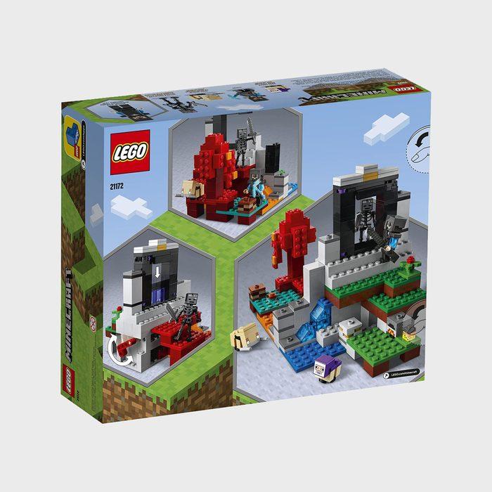 Lego Minecraft The Ruined Portal Via Amazon.com
