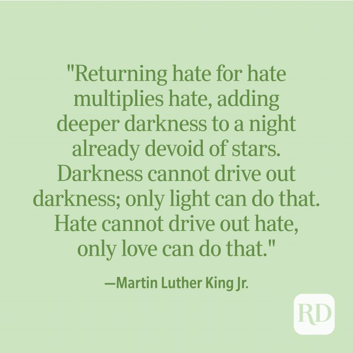 Martin Luther King Jr. Spiritual Quote