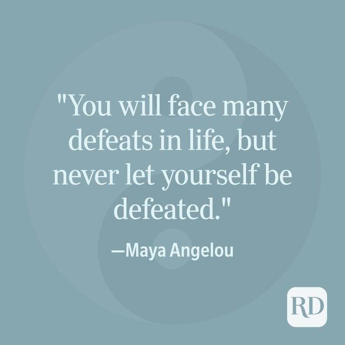 Maya Angelou Spiritual Quote
