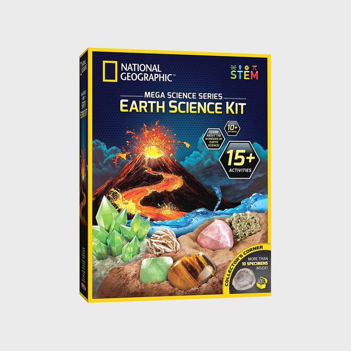 National Geographic Mega Science Series Earth Science Kit Via Amazon.com