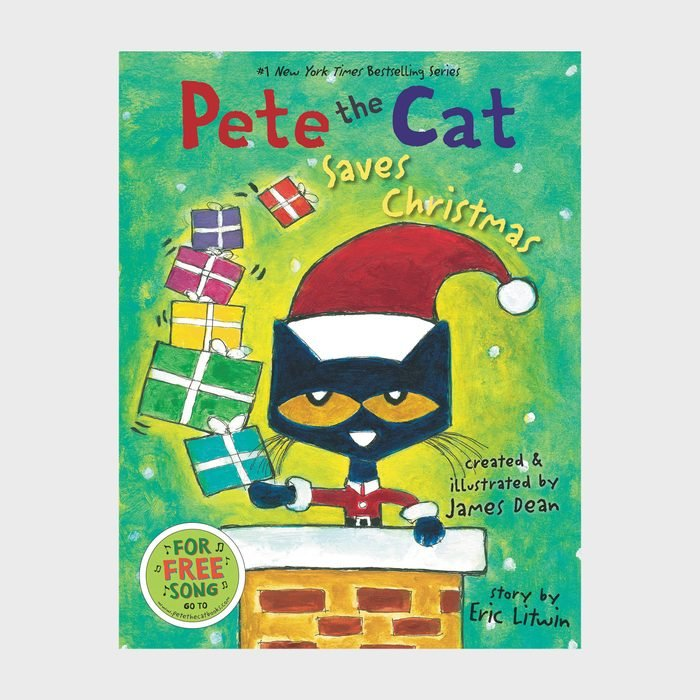 Pete The Cat Saves Christmasby James Dean And Eric Litwin Via Amazon