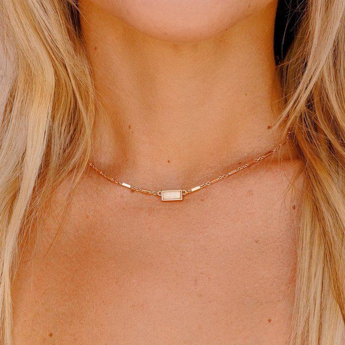 Pura Vida Bitty Opal Choker