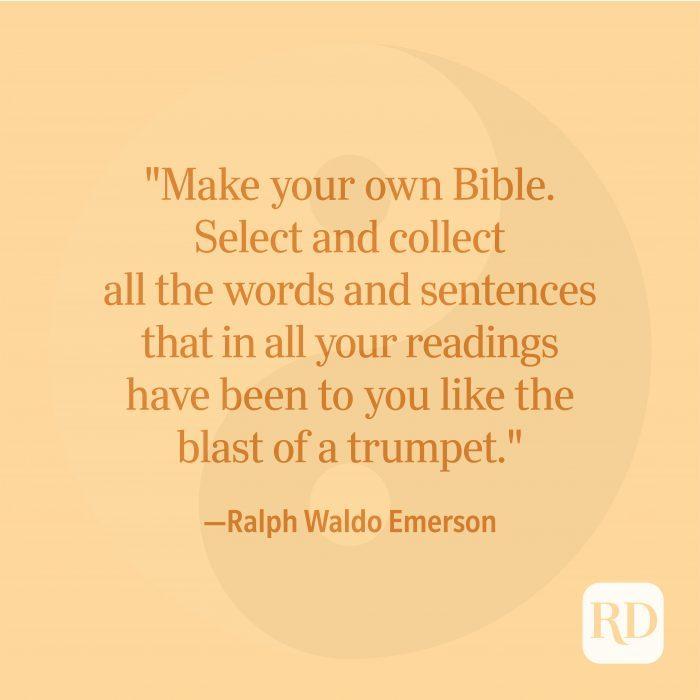 Ralph Waldo Emerson Spiritual Quote