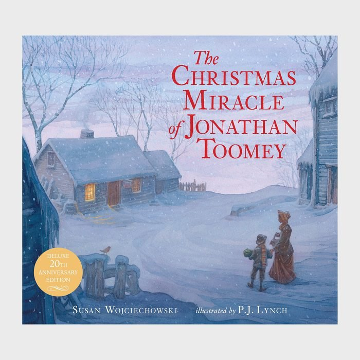 The Christmas Miracle Of Jonathan Toomey By Susan Wojciechowski And Illustrated By Pj Lynch Via Amazon