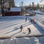 This Man's Homemade Ice Rink Brought Manton, Michigan Together During a Dark Winter