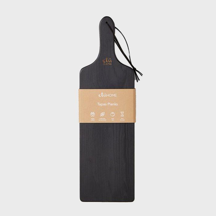 Etúhome Black Tapas Plank Set Via Etuhome