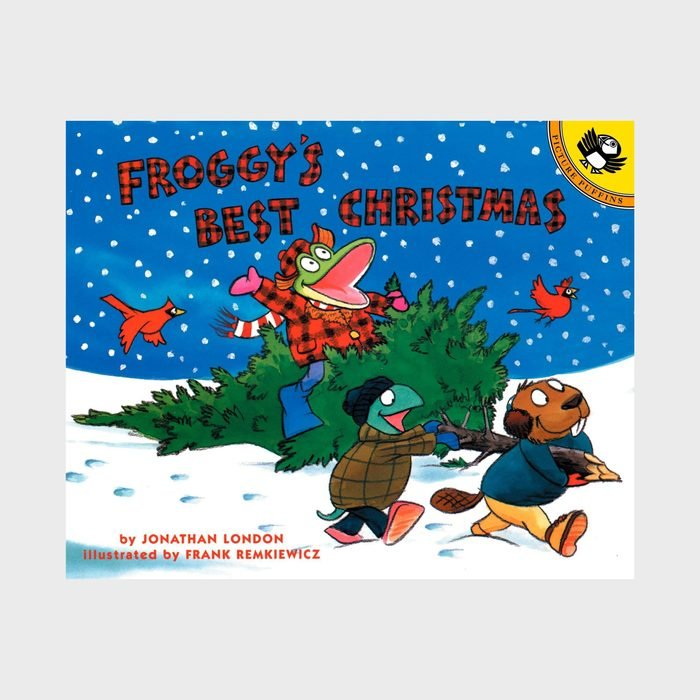 Froggy's Best Christmas By Jonathan London And Illustrated By Frank Remkiewicz Via Amazon