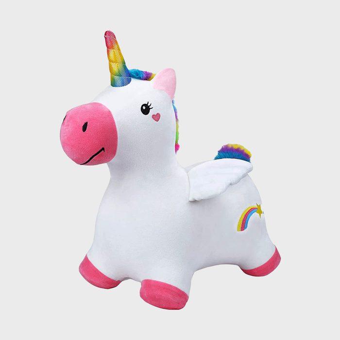 Iplay Ilearn Bouncy Pals Unicorn Via Amazon.com