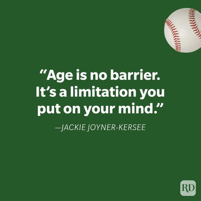 Jackie Joyner Kersee Athlete Quote