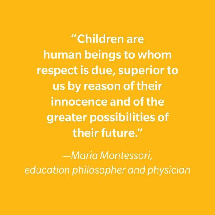 Maria Montessori Inspiring Kids' Quotes