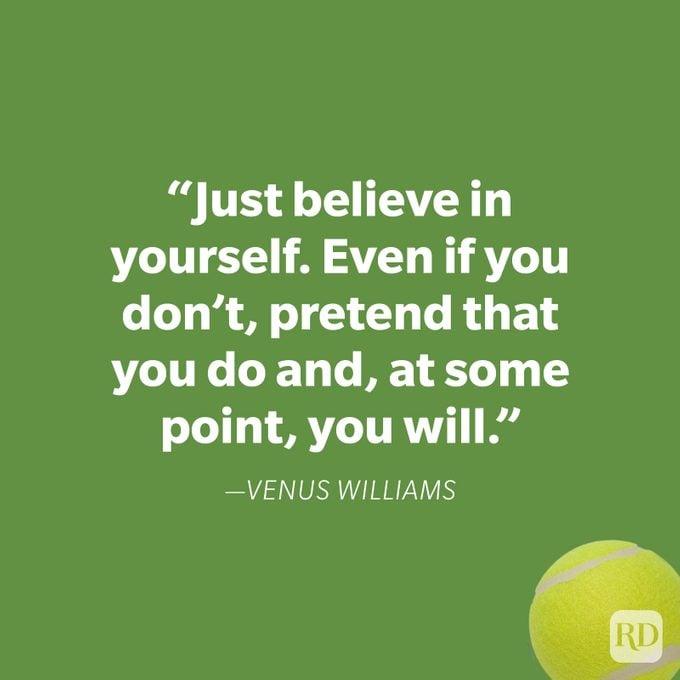 Venus Williams Motivational Sports Quote