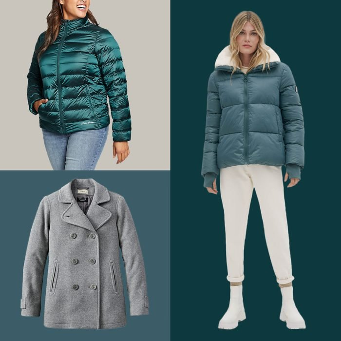 Warmest Coats Featured Product Collage