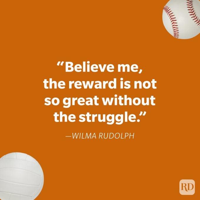 Wilma Rudolph Athlete Quotes