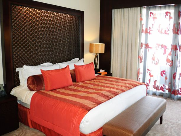 1. Bright Throw Cushions Or A Quilt Can Add Impact To A Dull Bed.