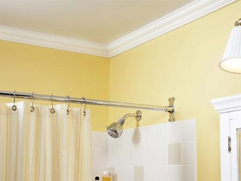 Crown Molding Makes A Big Impact In Bathrooms And Since Bathrooms Are Small You Can Add A Lot Of Elegance For 50 To 100 For Painted Crown Urethane Is