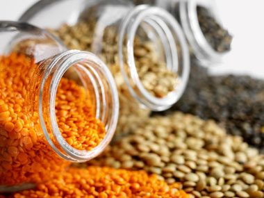 pantry essentials for weight loss, lentils