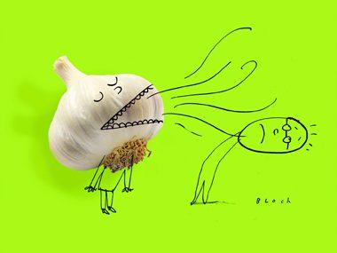 Get rid of garlic breath 8 fresh tips reader 39 s digest - Tips to banish bad odors ...