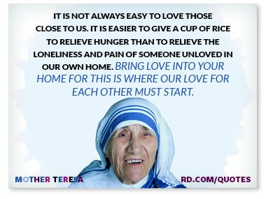 6 mother teresa quotes to live by reader 39 s digest