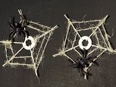 cobweb coasters - Halloween Cheap Decorations