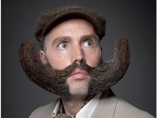 Swell Funny Facial Hair Styles How To Rock Them Reader39S Digest Short Hairstyles Gunalazisus