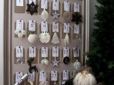 create an advent calendar  diy christmas advent calendar sl: cheap christmas decor