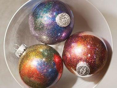 get a galaxy ornament  diy christmas galaxy ornament sl: cheap christmas decor