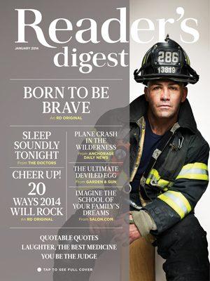 Reader's Digest: January 2014   Reader's Digest