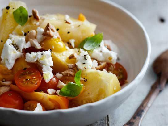 True Food Kitchen Watermelon Salad Goat Cheese