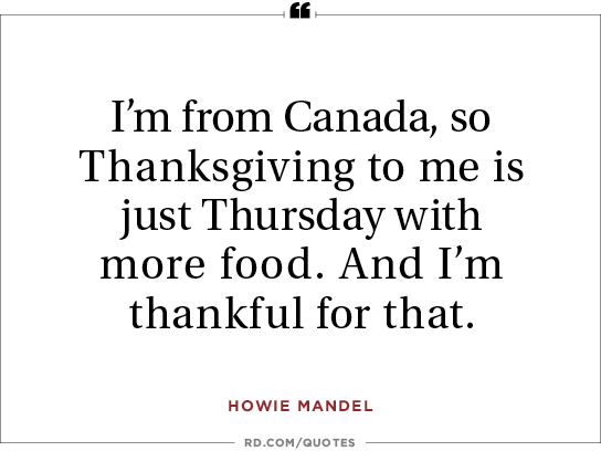 16 Funny Thanksgiving Quotes to Share at the Table Readers Digest
