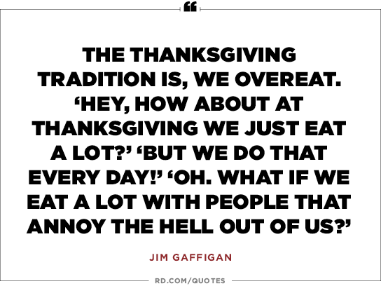 16 Funny Thanksgiving Quotes To Share At The Table