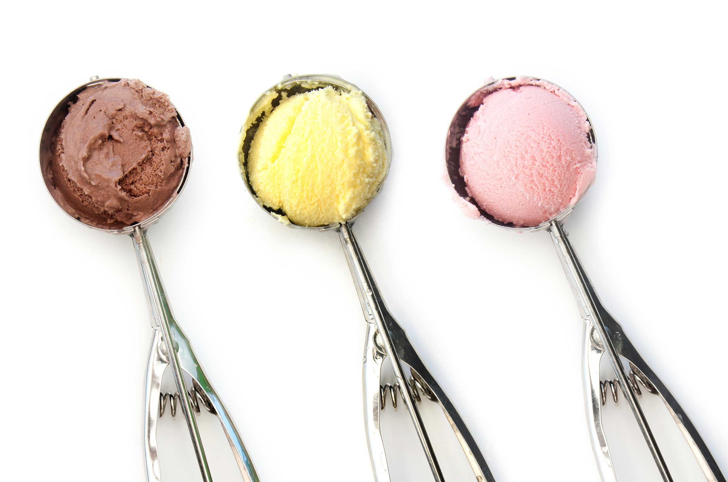Kitchen equipment and their uses - Ice Cream Scoops Measure Cookie Dough