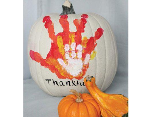 hands on pumpkin - Pumpkin Decoration
