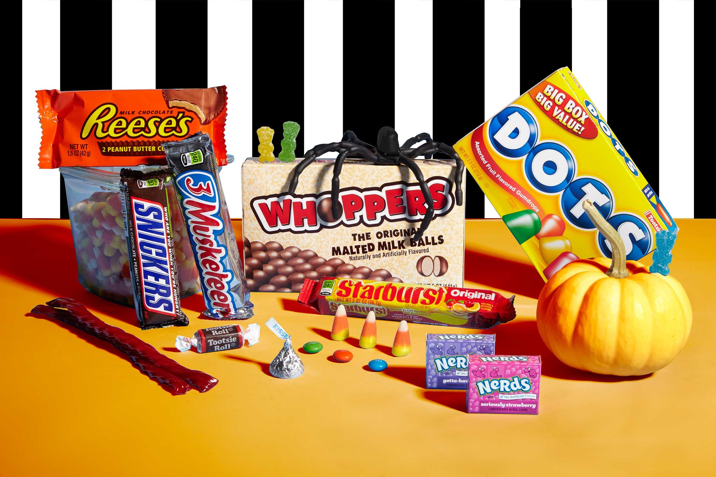 the disparities in halloween candy calories may spook you - Top 10 Halloween Candies