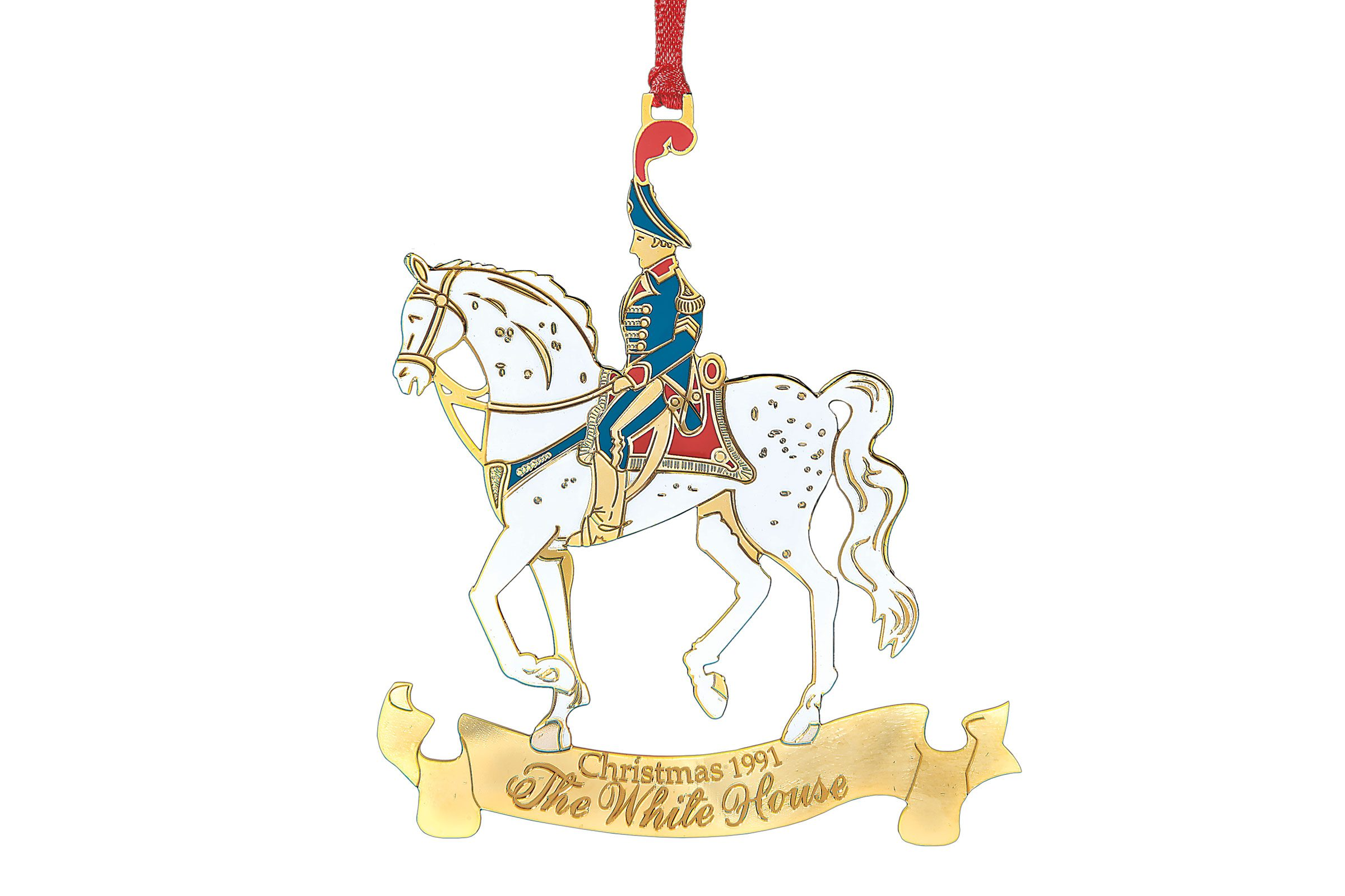Career christmas ornaments - White House Historical Association The First White House Christmas Ornament